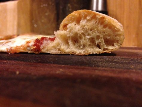 Nice puffy crust.